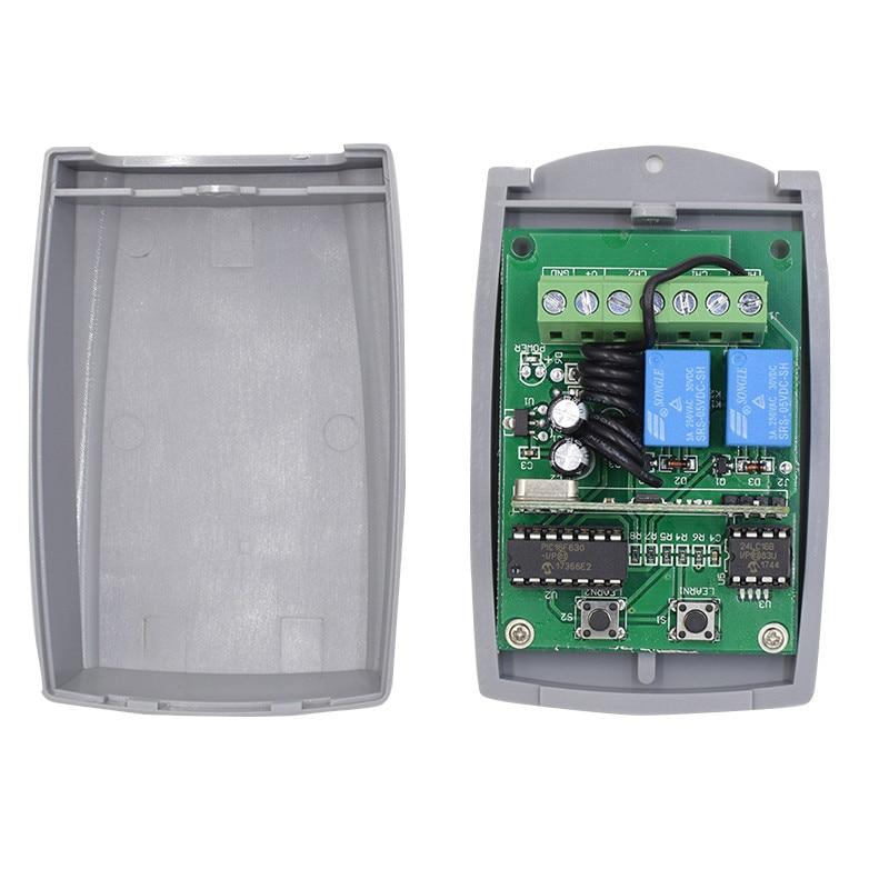 15 pieces universal gate remote control