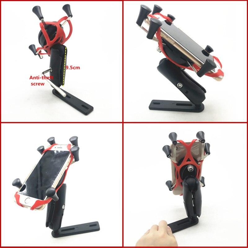 X-Grip держатель телефона для SUZUKI AN 650 Burgman AN650 2004-2017 аксессуары для мотоциклов gps Держатель для навигатора кронштейн