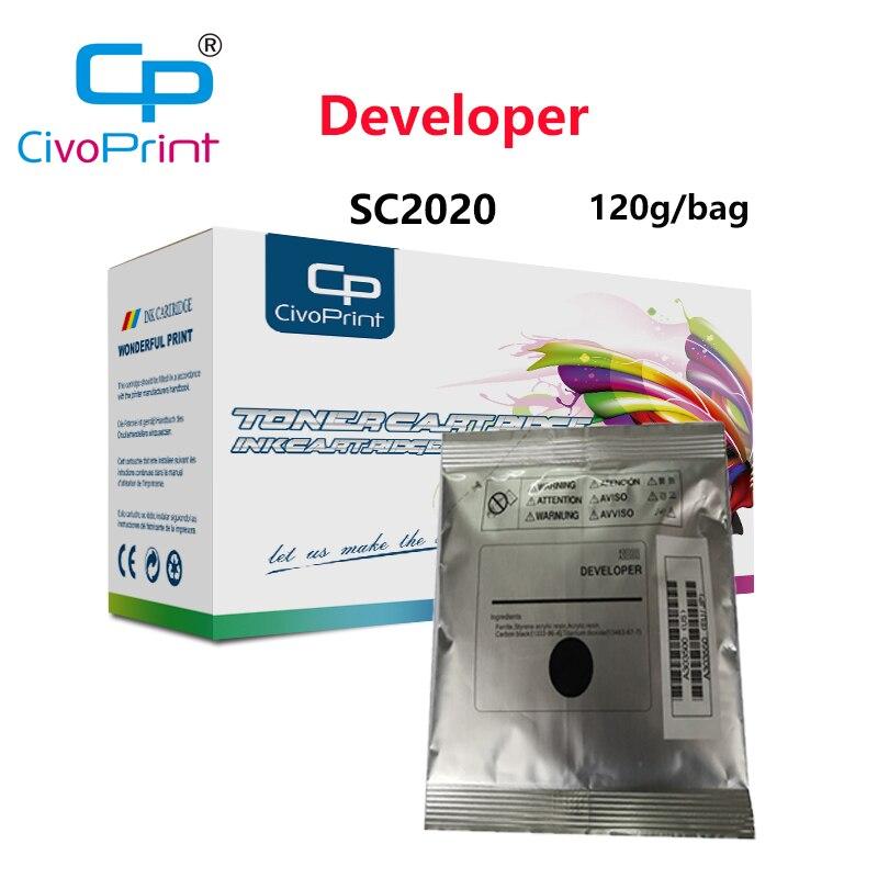 Civoprint compatible Xerox DocuCentre SC2020 desarrollador negro 676K35980 para Xerox SC2020 SC2020NW