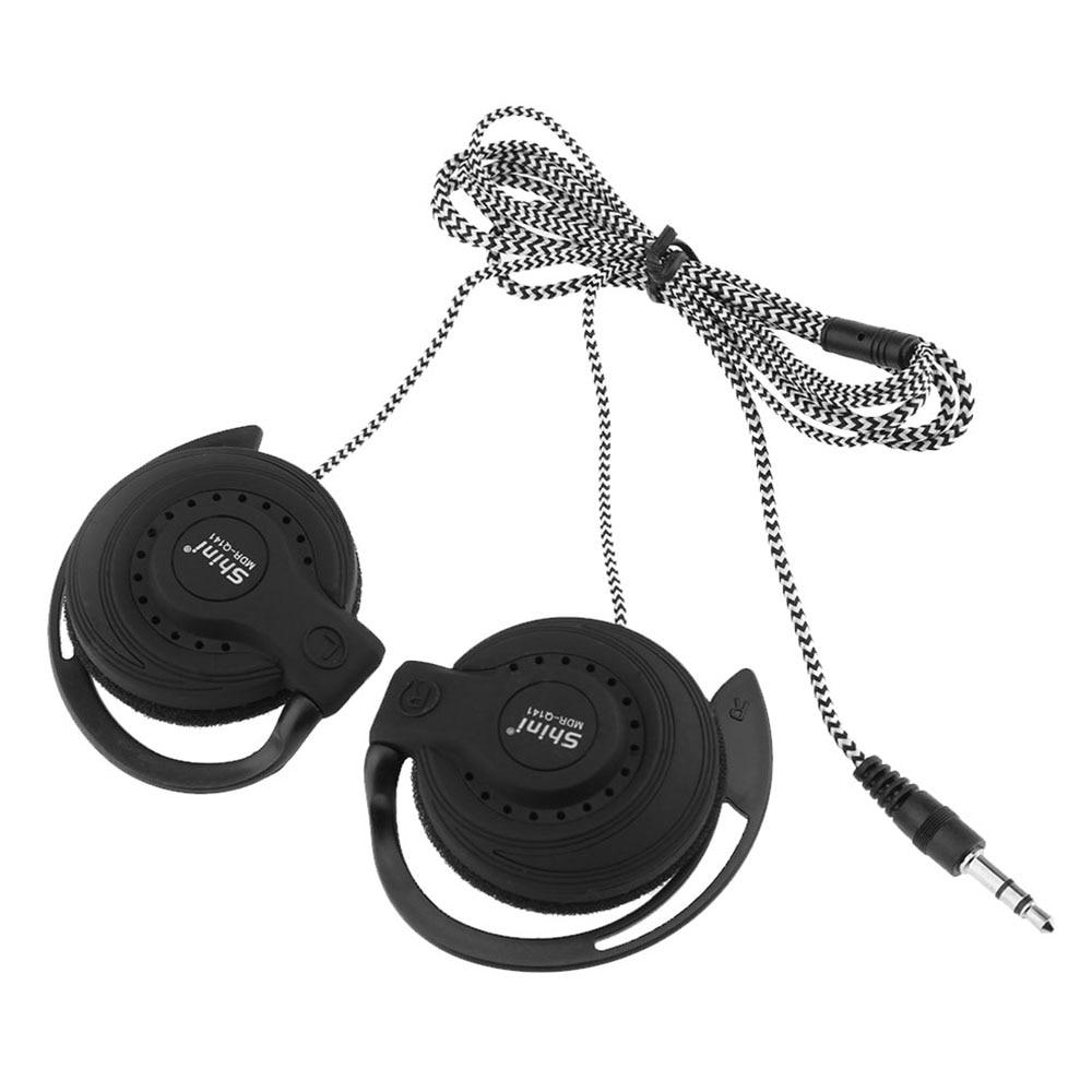 Auriculares estéreo Shini Q141 auriculares para correr deportivos auriculares intrauditivos auriculares bajos de música manos libres para iPhone4/5/6 Samsung