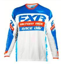 DH moto cross MX FXR Manica Lunga maillot vtt maillot de cross moto en Sella A maillot de descente vtt maillot moto cross