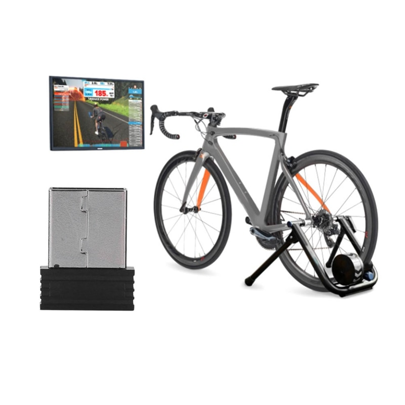 Sensor de cadência de bicicleta dongle vara adaptador usb sem fio velocidade cadência sensor bicicleta computador formiga + usb vara recebe.