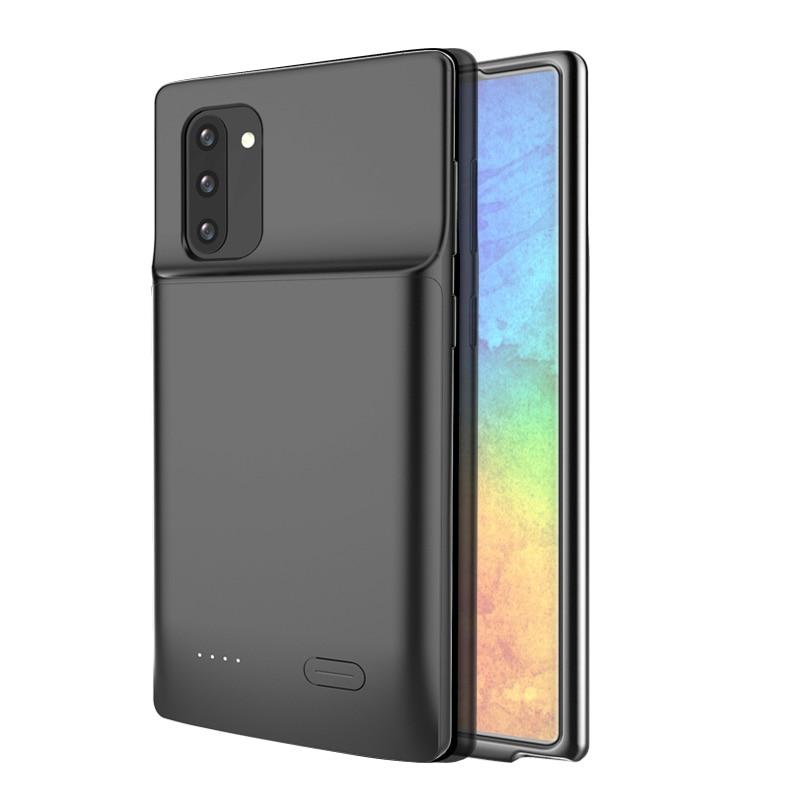 Funda fina de batería de 5200/6000mAh para Samsung Galaxy Note 10 Plus, carcasa con cargador de batería externo para Samsung Note 10