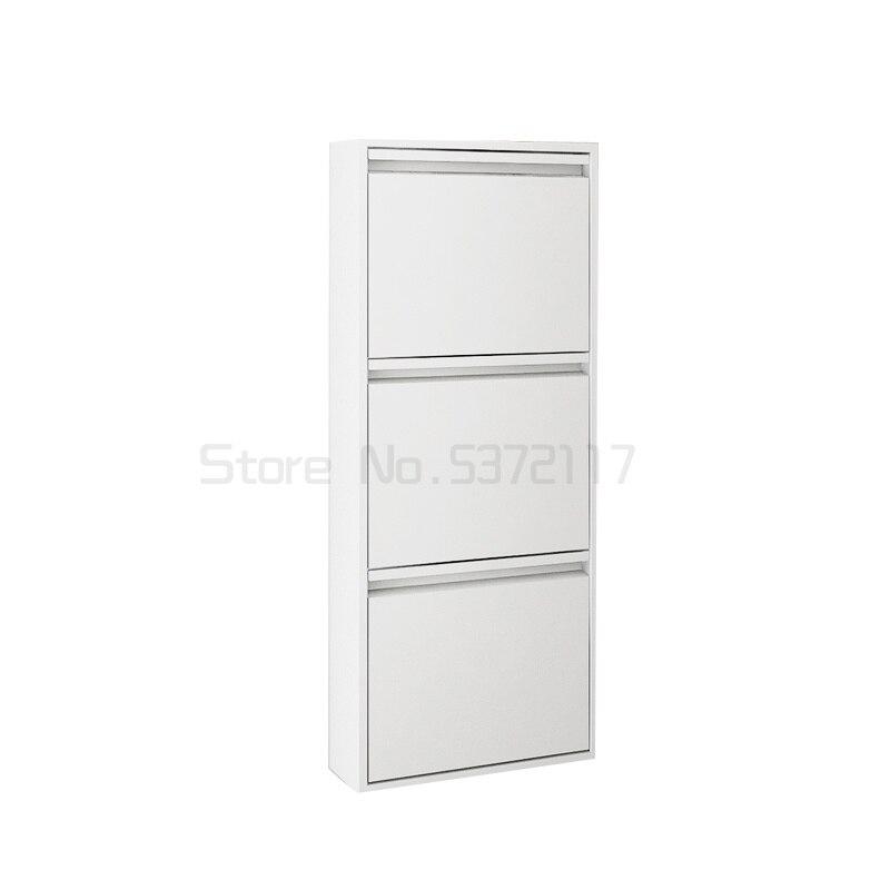 خزانة خذاء المنزلية جدار معلق قلابة خزانة معلقة خزانة خذاء ضيقة منزل نوع خزانة الشرفة خزانة عصرية بسيطة