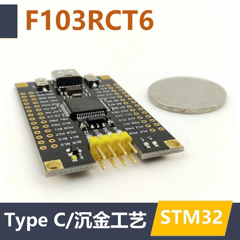 Placa de desarrollo STM32F103RCT6 minimal system Core board STM32, sistema mínimo STM32