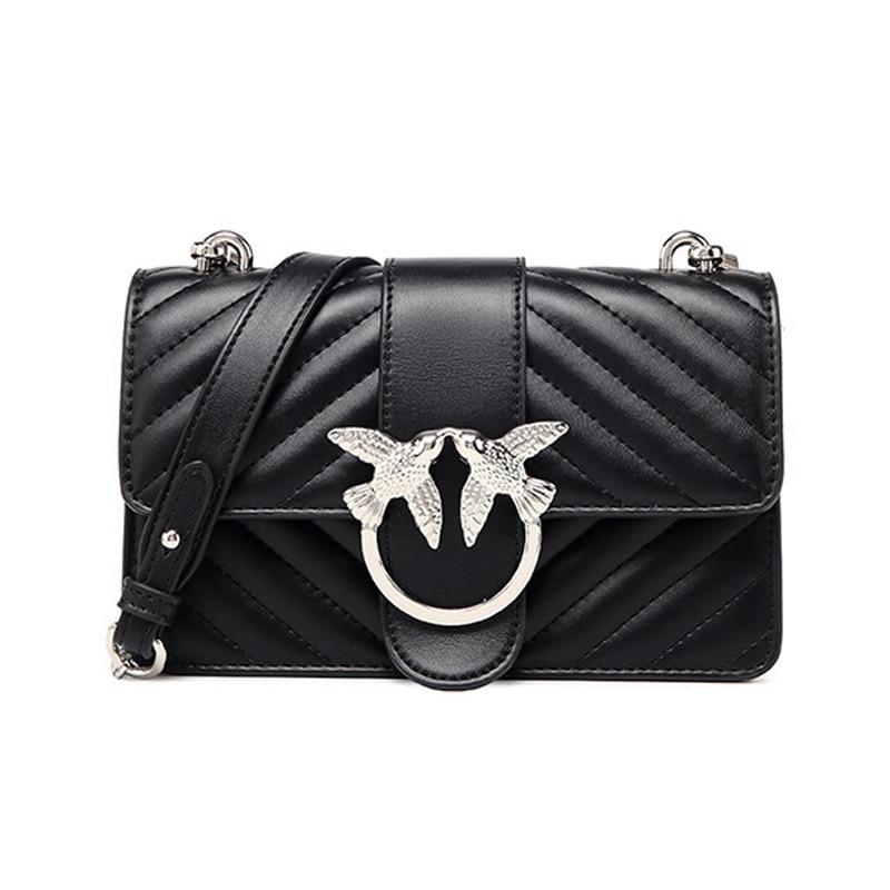 2020 Women Handbags Top quality Leather Crossbody Bags For Women Chain Female Shoulder Bag Designer Brand Women Bag And Purse