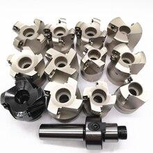 Nouveau C12 FMB22 C16 FMB22 C20 FMB22 Tige KM12 EMR5R EMR6R BAP300R 400R 50mm Visage Fraisage CNC Cutter + 10 pièces APMT1604 1135 SEKT