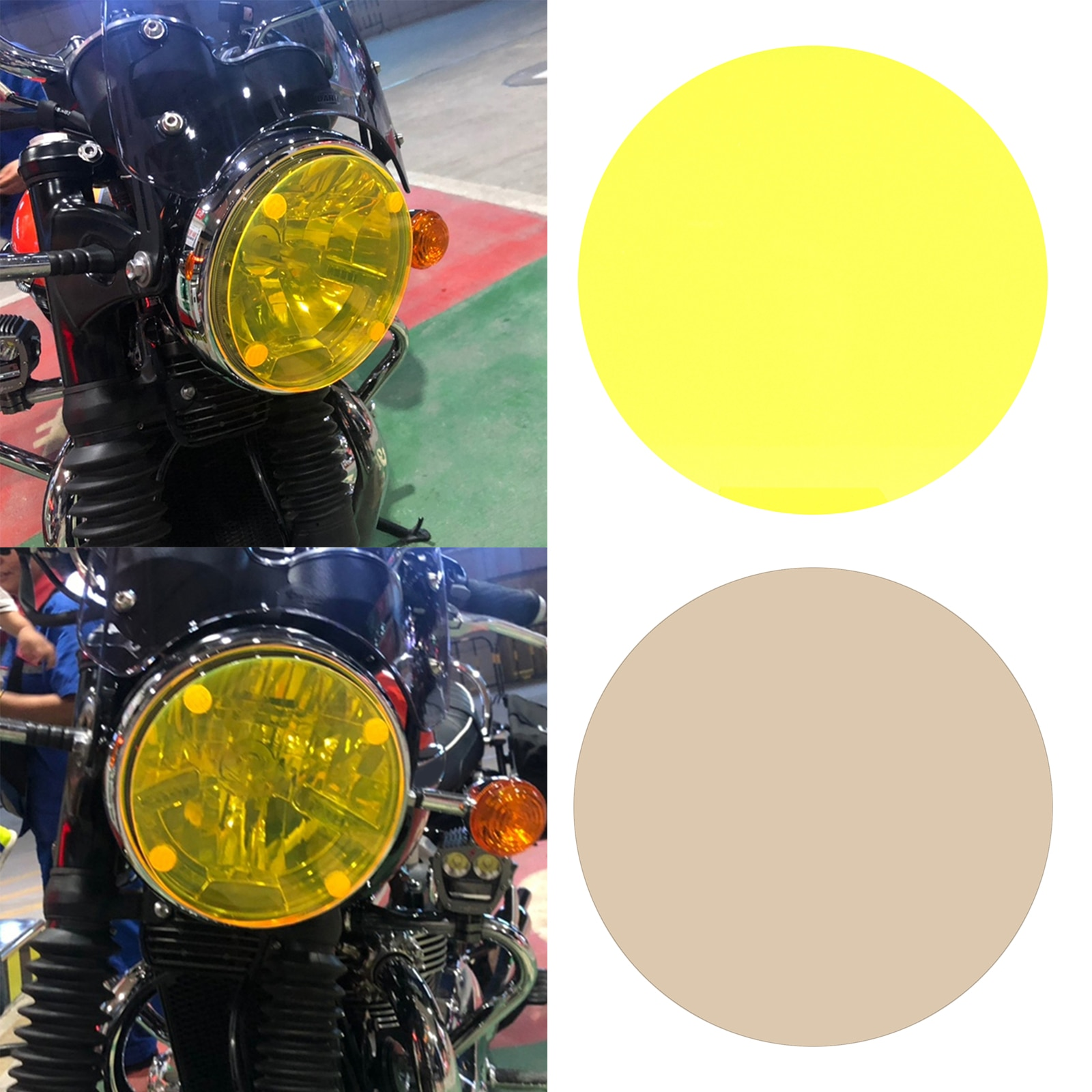 Headlight Front Light Lens Filter for BMW R nineT 13-17 Pure 16-17 Urban S 16-17 R1100 R 94-00