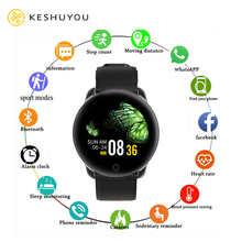 KESHUYOU KY99 Round Fashion Women Smartwatch Pedometer Tracker Heart Rate Monitor Music Camera Control Sports Ladies Smart Watch