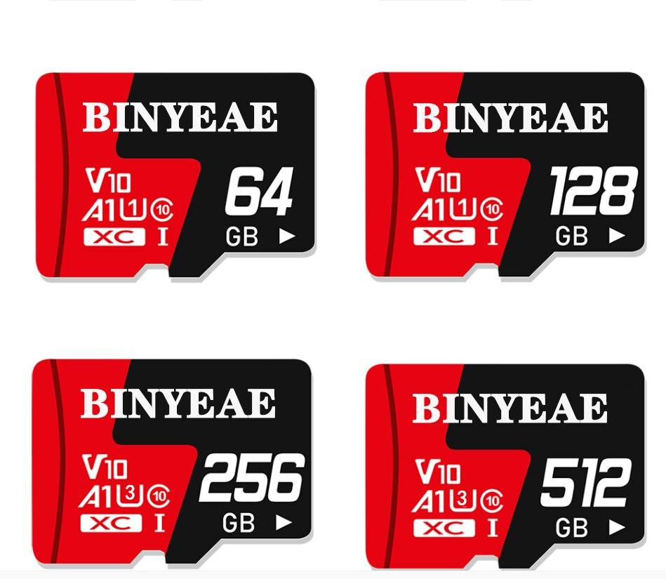 Micro SD Card 512GB Memory Card 256GB Class10 sd Card 128GB 32GB 64GB SD Card TF Flash Card microSD For Phone/PC/camera/drone