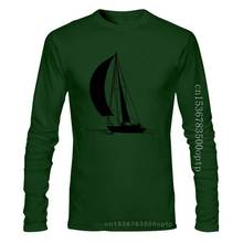 New Sailing Ship And Sailor In The Sea Art Men'S (Woman'S Available) Grey T Shirt Birthday Gift Tee