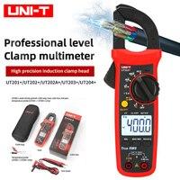UNI-T Профессиональный цифровой мультиметр UT201 + UT202 + UT203 + тестер переменного и постоянного тока, измеритель сопротивления, емкости и частоты