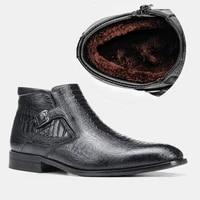 40 46 men boots winter comfortable non slip 2020 warm mens winter shoes