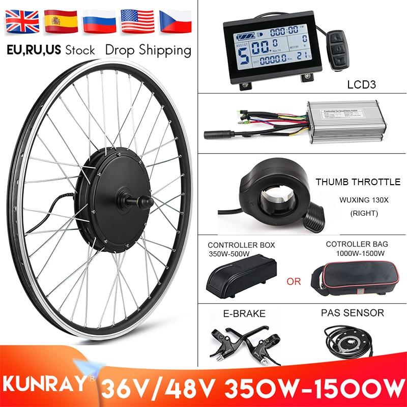 cheap rear hub motor electric bike conversion kit