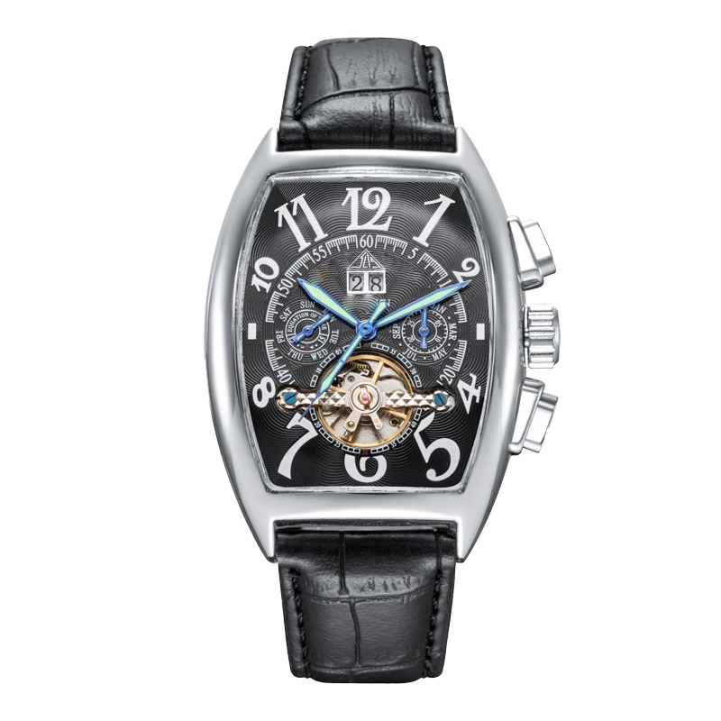 Top Brand Luxury Men's Watches Tourbillon Automatic&Quartz 3bar Waterproof  -FRANCK- MULLER- Watch for Men Mechanical Wristwatch