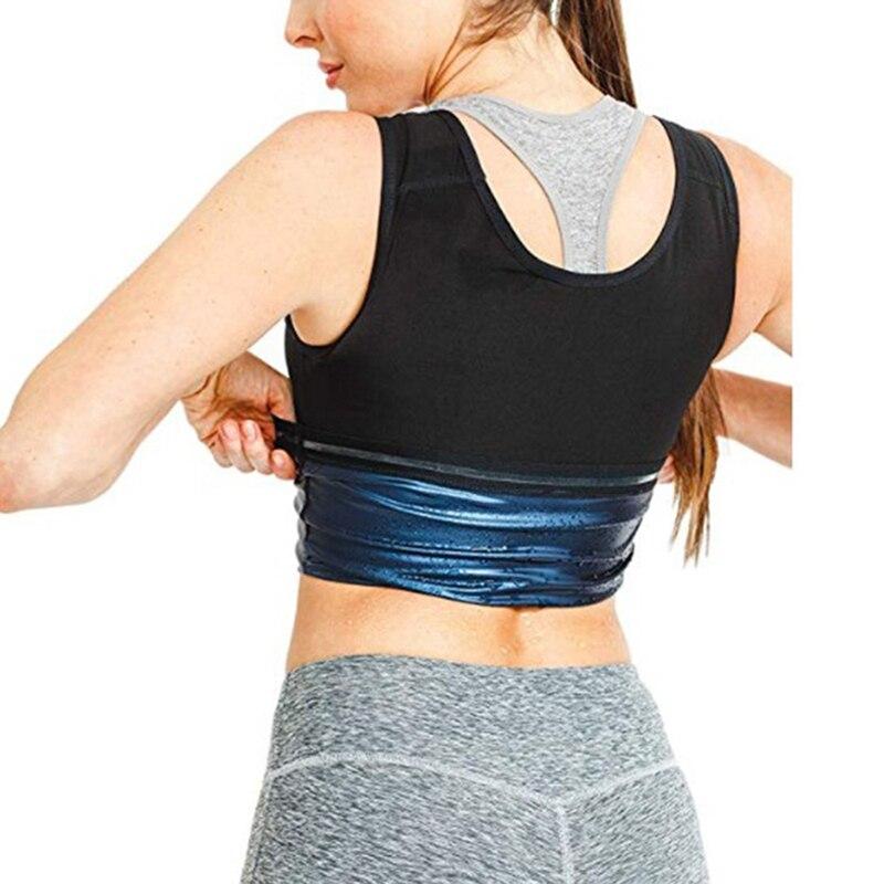 ¡Novedad de 2020! Camiseta sin mangas para adelgazar con efecto adelgazante para mujer