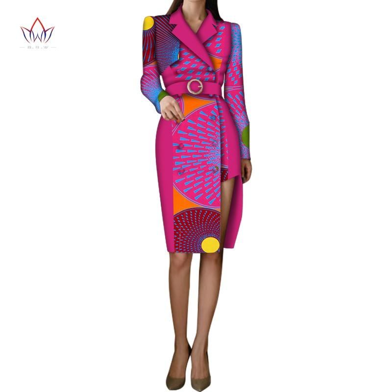 African Dashiki Traditional Women Christmas Dress Long Sleeve African Dresses For Women Print Dashiki Cotton Dress WY5928 недорого