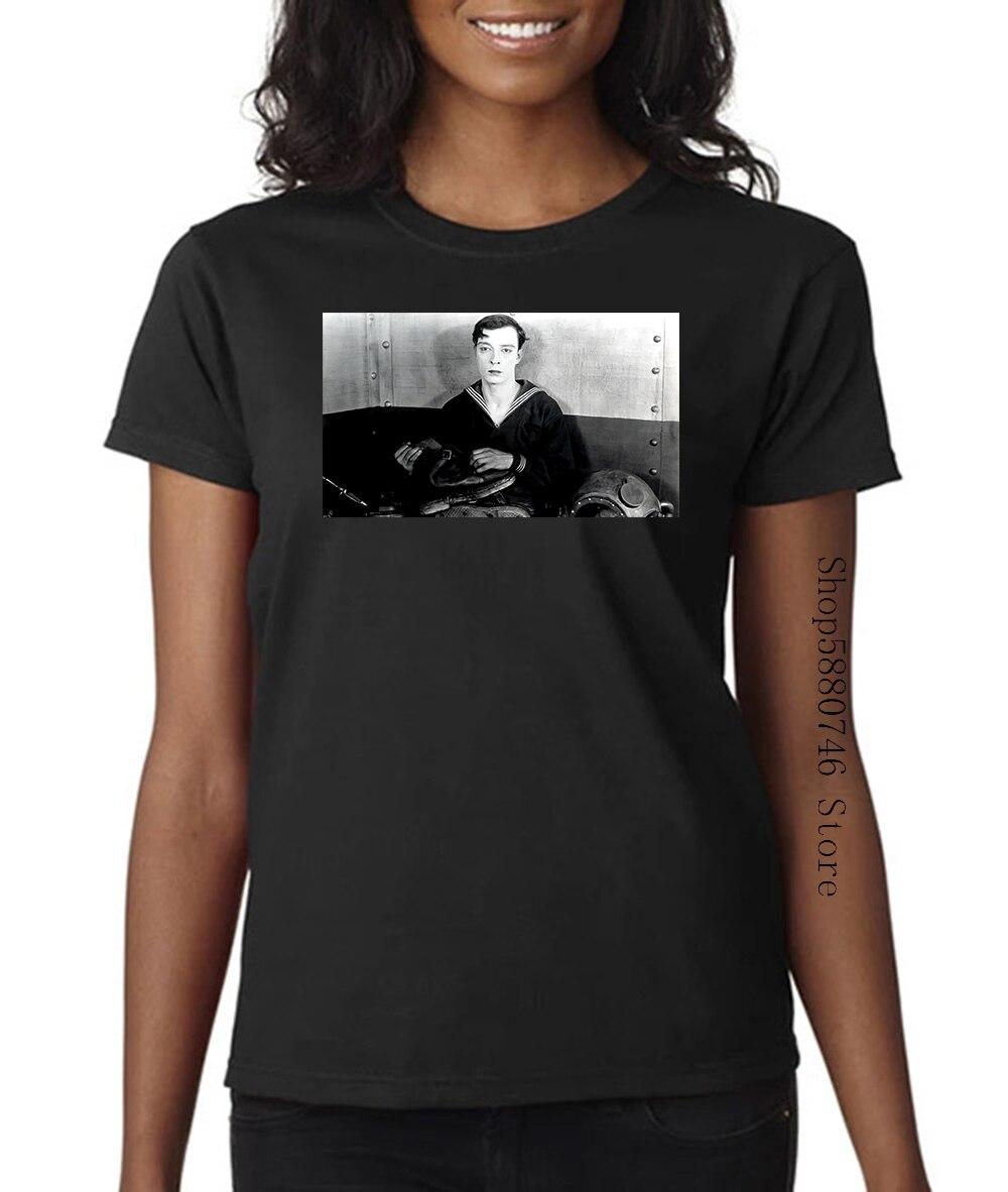 El navegador camiseta Donald Crisp Buster Keaton película de cine de Hollywood