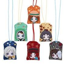Identité V porte-clés Omamori Joker Michiko Emma Woods Joseph Desaulniers Naib Subedar mignon amusant dessin animé lin sac porte-bonheur japonais