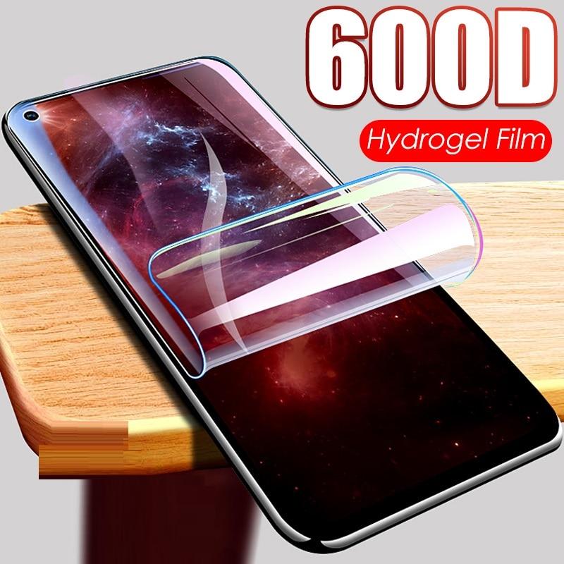 Protective Hydrogel Film For Huawei HOnor 20 Pro 8 9 10 Lite 8x 9x 10i 8a P smart 2019 Z Nova 5T Screen Protector Camera Glass