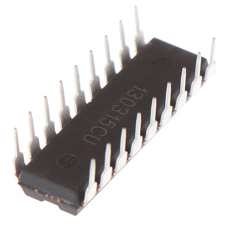 1Pc Hot New BA8206BA4 BA8206BA4K Fã Chip de Potência Integrado DIP-18
