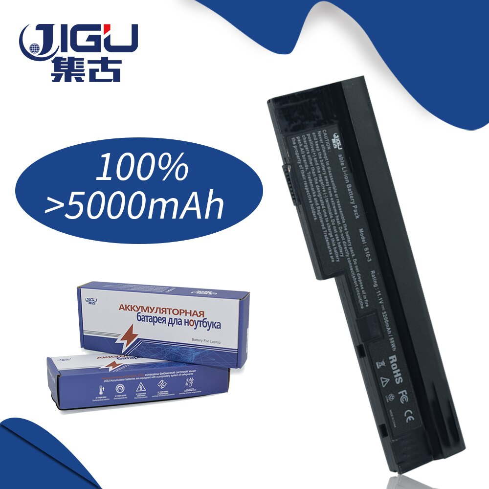 JIGU 6Cells Laptop Battery For Lenovo IdeaPad S10-3 S10-3 0647 S205 S100 U165 121000920 121000922 121000930 121000932 121001138