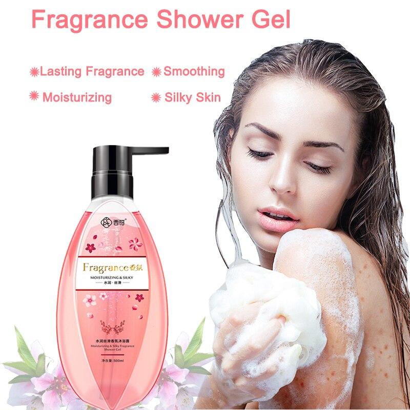 CCPT 500ml Gel de ducha con perfume familiar, espuma de limpieza de baño profunda, Gel de ducha con fragancia duradera, hidratante para el cuidado de la piel