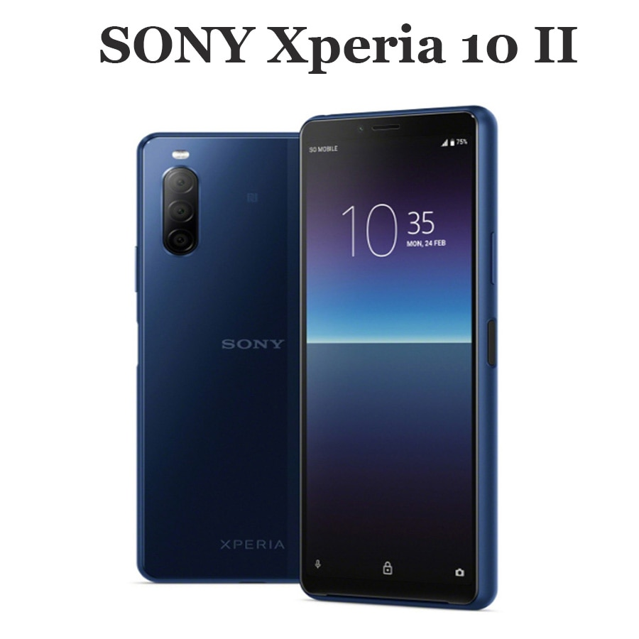 2020 Original Sony Xperia 10 II 4G Mobile Phone 6.0