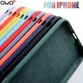 Luxury-Case Cover Liquid Silicone Apple iPhone 6s-Plus Original 5S for 11/12-pro/Max/..