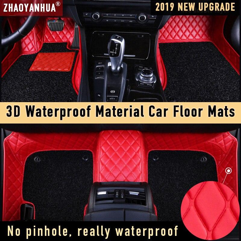 Alfombrilla de coche para bmv x5 e53 e70 mercedes benz w245 nissan-qashqai-j10 accesorios de coche impermeables alfombrilla de cuero