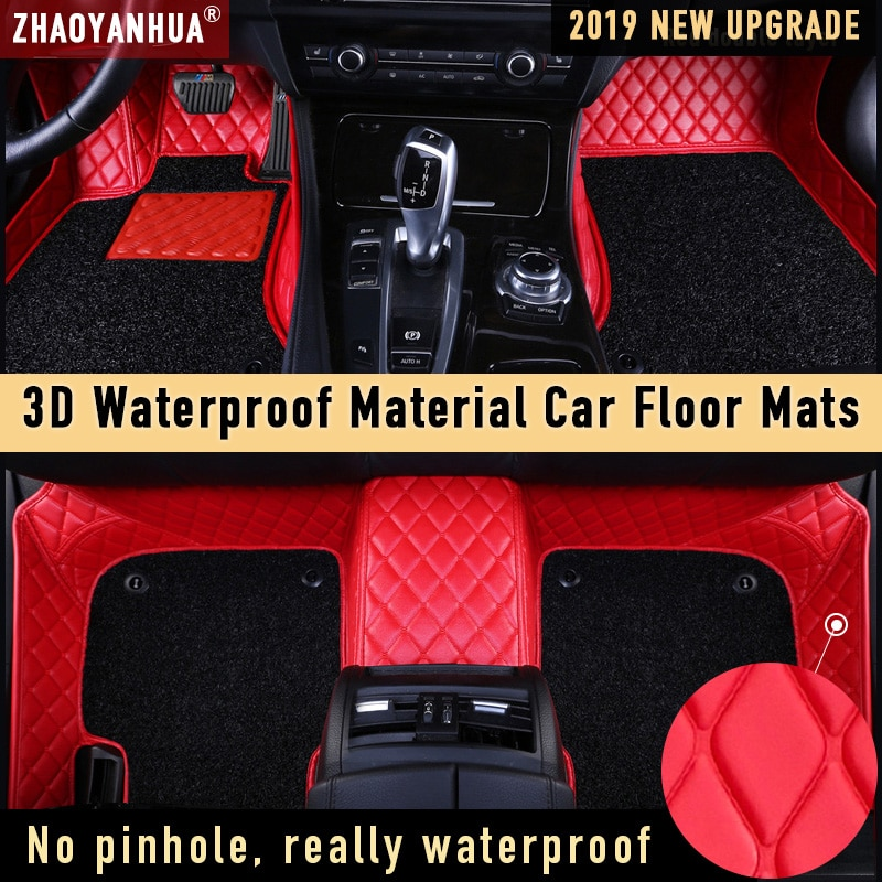 Alfombrilla de coche para nissan primera p11 huyndal sonata bmw f46 bmw x5 e70 accesorios de coche impermeables alfombrilla de cuero alfombra revestimiento