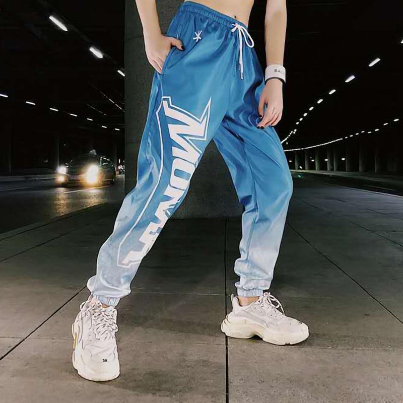 Joggers Men Hip hop Pants Streetwear Summer Lightweight Sweatpants Elastic waist Ankle length Trousers Techwear Clothes Casual