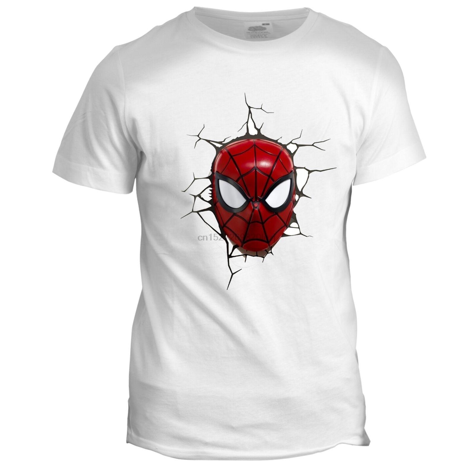 Spider Man Inspired Mens Super Hero Comic Tumblr Cartoon Film Movie T Shirt