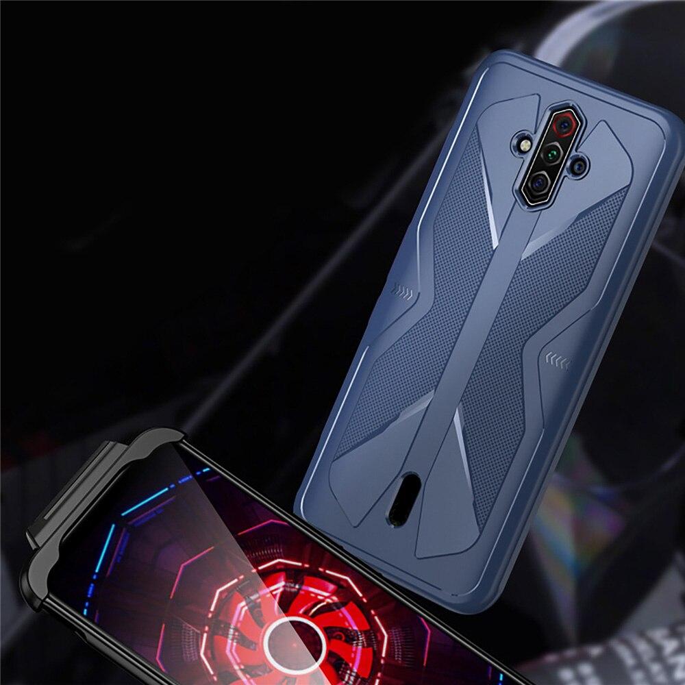 Para Nubia Play 5G funda de teléfono suave TPU SmartPhone a prueba de golpes Carcasa protectora trasera