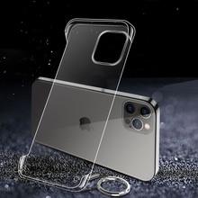 Custodia Ultra sottile trasparente per Apple iPhone 13 12 Mini 11 Pro Max X Xr XS 7 8 Plus SE 2020 custodia rigida per telefono senza bordi
