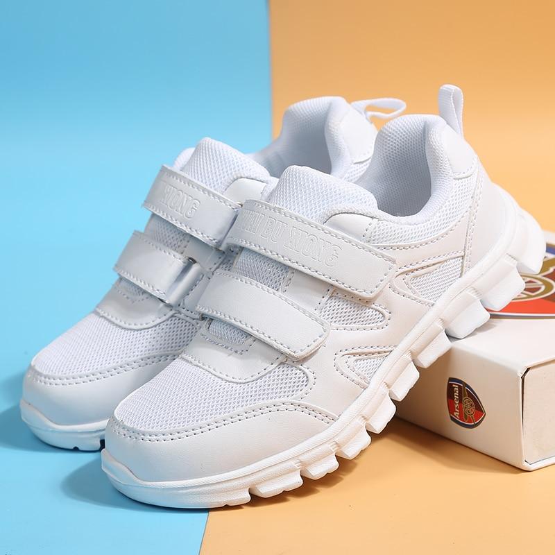 Outdoor Kid Sneakers Kid Running Shoes Children Sport Shoes Boy Basket Footwear Lightweight Breathab