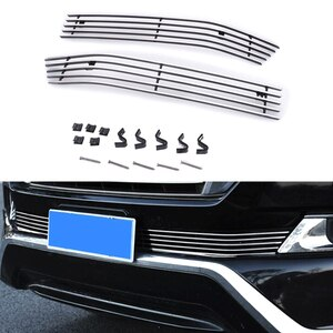 2016 2017 Stainless Steel Front Grille For Toyota Land Cruiser 200 FJ200 Accessories Car Front Grill Vehicle Bumper Grille
