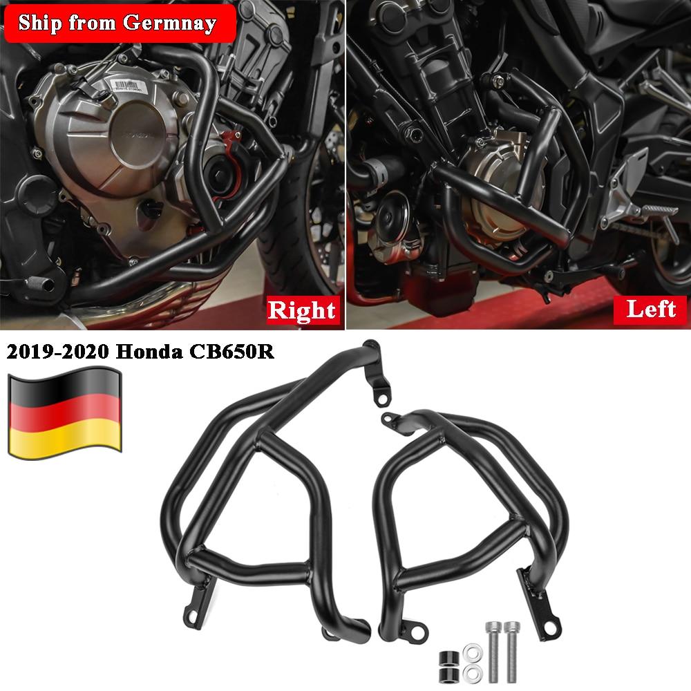 Para Honda CB650R Protector de motor motocicleta barra parachoques de carretera marco Protector negro 2019 2020 CB 650 R CB 650R Accesorios