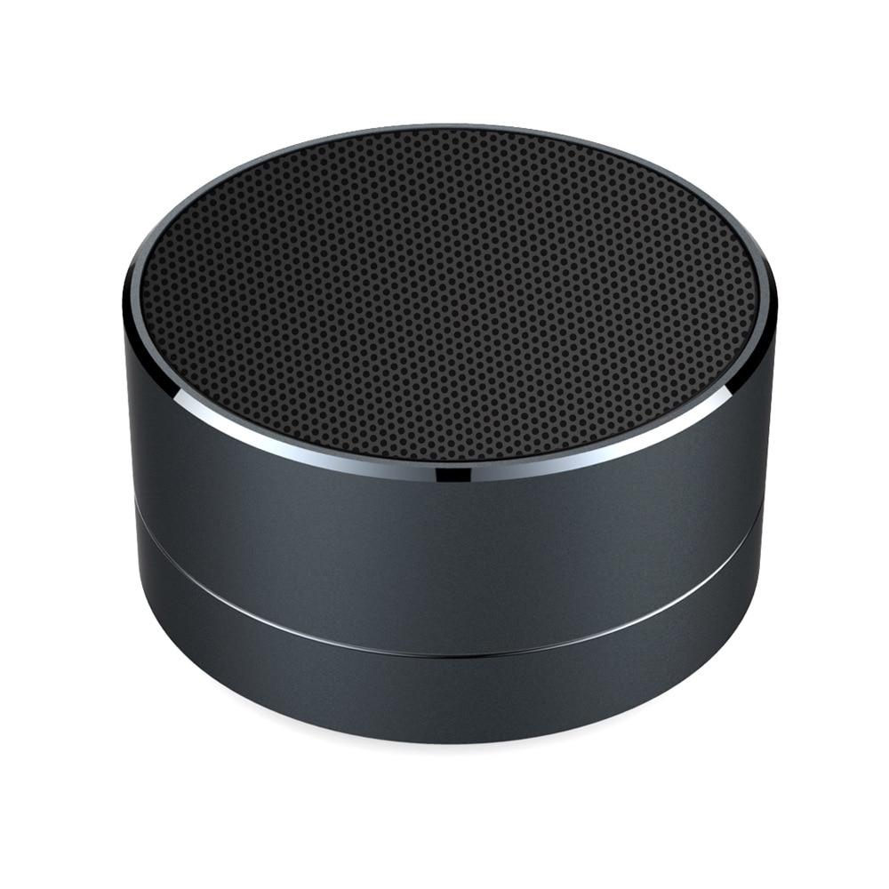 Ssdfly A10 Mini altavoz de Metal inalámbrico Bluetooth micrófono Subwoofer TF tarjeta MP3 reproductor de música altavoz Compatible Smartphone pc