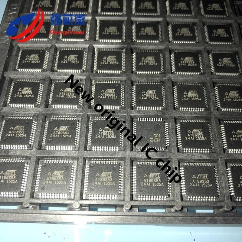 AT89S53-24AI AT89S53-24 AT89S53 المتكاملة IC رقاقة الأصلي