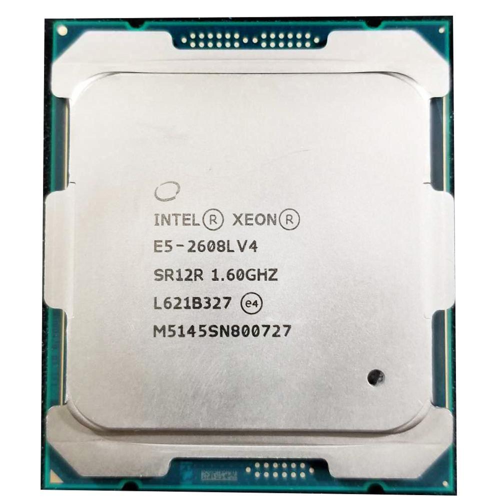 الأصلي إنتل زيون E5-2608L V4 E5-2608LV4 E5 2608L V4 معالج وحدة المعالجة المركزية 8 النواة 1.60 GHz مناسبة X99 اللوحة