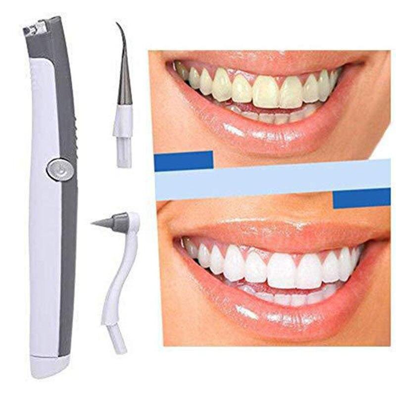 Eléctrico Sonic higiene Oral Diente de manchas Goma de placa removedor Dental sistema de limpieza