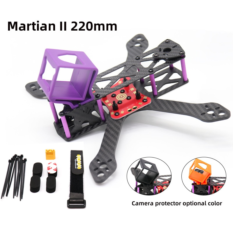 Martian II 5inch  Wheelbase 220mm Carbon Fiber FPV Frame Kit for Racing Drone Quadcopter