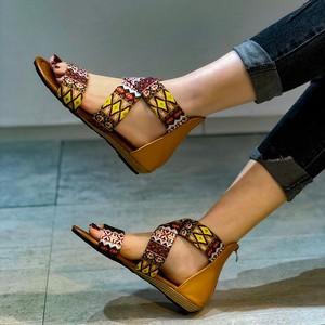 Sandals Women Summer New Fashion Women's Sandals 2021 Casual Sandals Flat Heel Sexy Open Toe Women Sandals Shoes