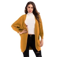 pgsd autumn winter korean fashion cardigan for women loose oversize coat long bat sleeve knitted sweater top ladies clothes