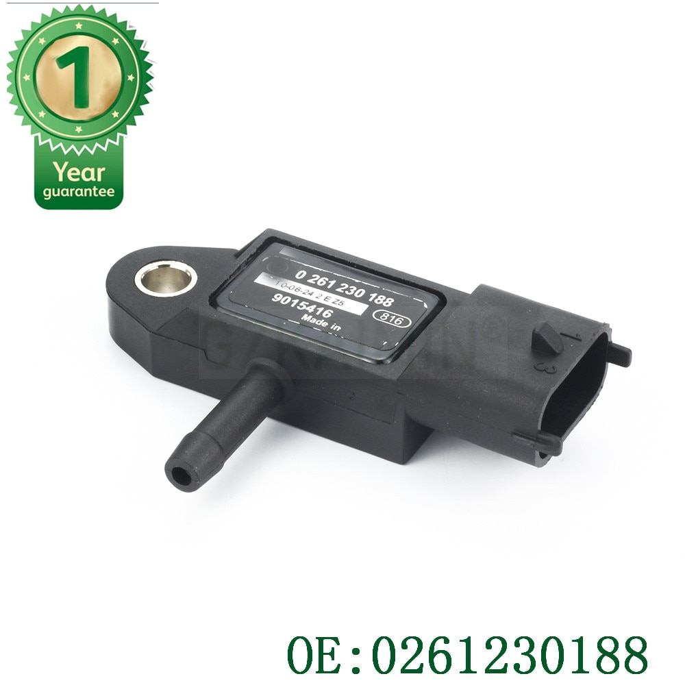 Alta qualidade manifold mapa de pressão absoluta sensor oem 0261230188 para daewoo buick gmc chevy cadillac
