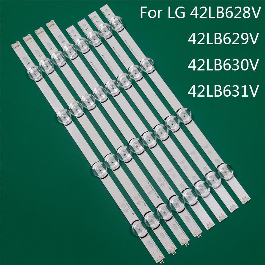 LED TV الإضاءة جزء بديل لـ LG 42LB628V 42LB629V 42LB630V 42LB631V عمود إضاءة LED شريط إضاءة خلفي خط حاكم DRT3.0 42 ab