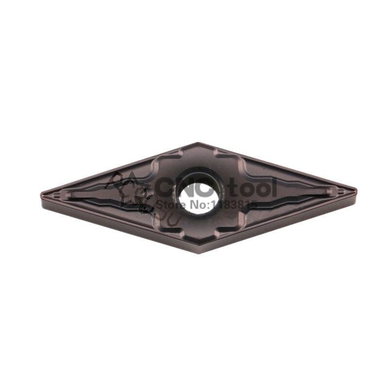VNMG160404-HM PC9030, inserto de carburo original, usr para portaherramientas de torneado, mini máquina CNC inserta 10 piezas