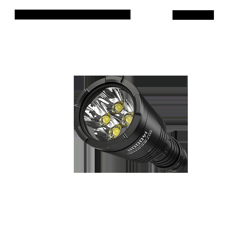 NITECORE i4000R 4400 Lumens innovative maintenance flashlight, equipped with 21700 large-capacity battery enlarge