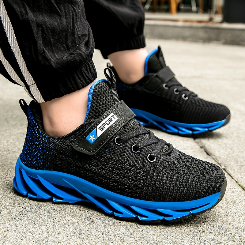 New Boys Sneakers Kids Running Shoes Outdoor Hollow Sole Children Casual Shoes Tenis Infantil Basket Footwear Summer Girls Shoes